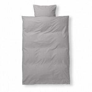 Lenjerie de pat bumbac junior gri 110x140 cm Grey Ferm Living