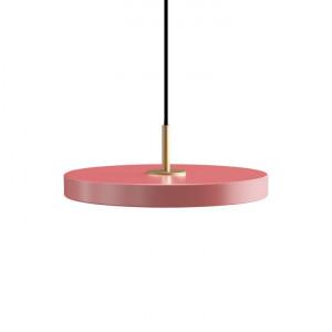 Lustra roz/aurie din otel si aluminiu Asteria Mini Umage