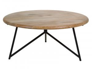 Masa din lemn de mango 90 cm Center Santiago Pons