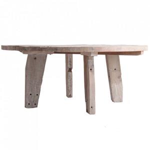 Masa dining crem din lemn de mango 180 cm Hassi Vical Home