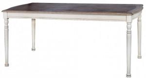 Masa dining din lemn de arbore de cauciuc 90x180 cm Limena Livin Hill