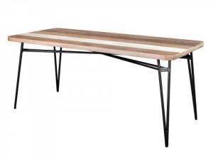 Masa dining din lemn de salcam si MDF 80x180 cm Adesso Livin Hill