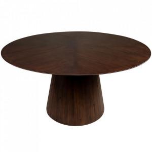 Masa dining maro din lemn de mindi 150 cm Congo Versmissen