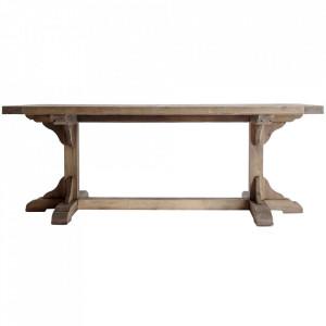 Masa dining maro din lemn de pin 100x250 cm Getbo Vical Home