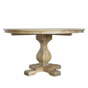 Masa dining maro din lemn de ulm 140 cm Viola Bloomingville