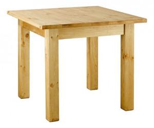 Masa dining maro din lemn pin 95x95 cm Rustic Zago