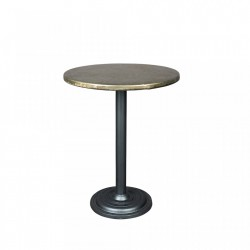Masa rotunda bistro din metal 60 cm Ewan White Label