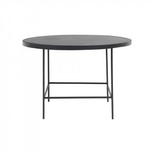 Masa rotunda din metal pentru cafea 70x45 cm House Doctor