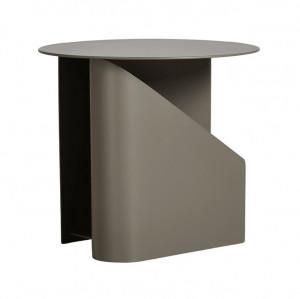 Masuta grej din metal 40 cm Sentrum Woud