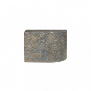 Masuta maro din beton 30x60 cm pentru cafea Slay Element Straight Versmissen