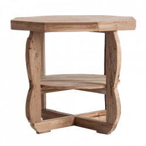 Masuta maro din lemn 60x60 cm Taskent Vical Home