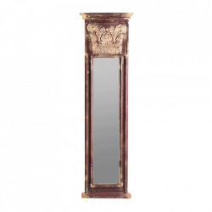 Oglinda dreptunghiulara maro/aurie din lemn 42x147 cm Rodez Vical Home