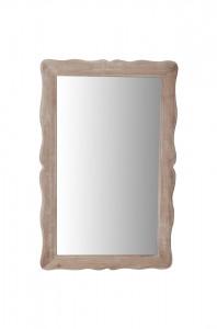 Oglinda dreptunghiulara maro din lemn si MDF 40x60 cm Pesaro Livin Hill