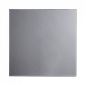 Oglinda patrata gri din sticla 90x90 cm Mirra Nordal