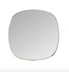 Oglinda patrata maro din alama 70x70 cm Dobles Brass Medium Versmissen