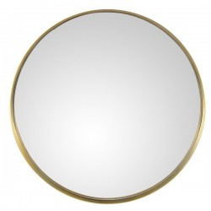 Oglinda rotunda aurie din metal 60 cm Alice Zago