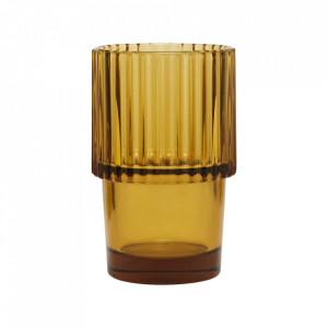 Pahar maro din sticla 7x11 cm Rills House Doctor