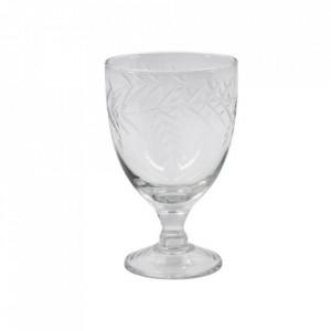 Pahar pentru vin transparent din sticla 8x13 cm Crys House Doctor