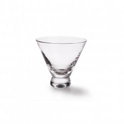 Pahar transparent din sticla 230 ml Stemless Martini HK Living