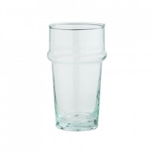 Pahar transparent din sticla reciclata 6,5x11,5 cm Beldi Madam Stoltz