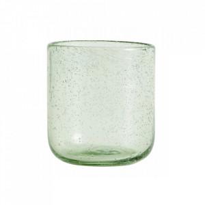 Pahar verde din sticla 300 ml Maroc Nordal