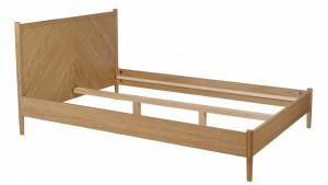 Pat maro din lemn  140x200 cm Farsta Angle Woodman