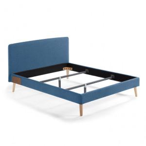 Pat tapitat albastru 150x190 Lydia La Forma