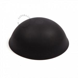 Pavilion negru din plastic CableCup Zangra