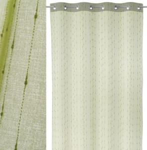 Perdea verde din poliester 140x260 cm Chuva Unimasa