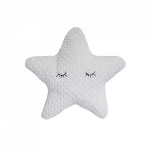 Perna decorativa alba din poliester 35 cm Star Bloomingville