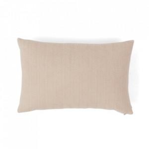 Perna decorativa dreptunghiulara nude din fibre acrilice 40x60 cm Kata Oyoy