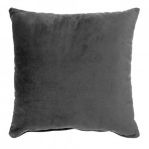 Perna decorativa gri inchis din catifea 40x40 cm Lido House Nordic