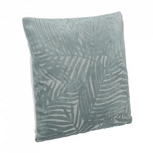 Perna decorativa patrata gri din poliester 40x40 cm Anitha Bizzotto
