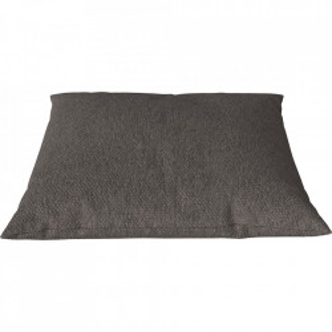 Perna decorativa patrata gri maroniu din bumbac 60x60 cm Classic Sira Bolia