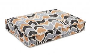 Perna dreptunghiulara multicolora din bumbac pentru podea 60x80 cm Biscayne Multi La Forma
