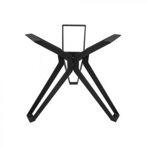 Picior pentru masa dining negru din metal 3D Veneto HSM Collection