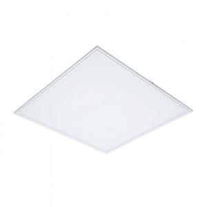 Plafoniera alba din metal cu LED Selis Milagro Lighting