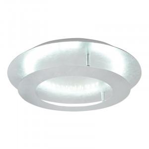 Plafoniera gri argintiu din metal cu LED Merle Candellux