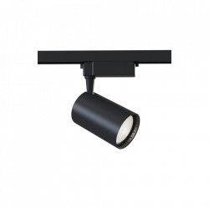 Plafoniera neagra din aluminiu cu LED Track Maytoni