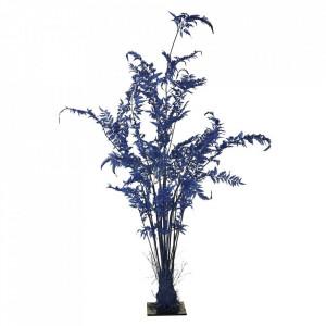 Planta artificiala albastra din fier si plastic 220 cm Fern Pols Potten