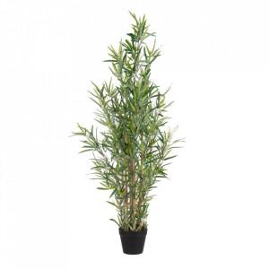 Planta artificiala cu ghiveci din PVC 120 cm Bamboo Ixia