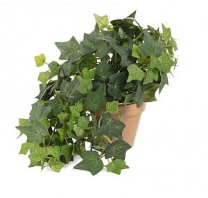 Planta artificiala cu ghiveci din teracota 25 cm Zelena Ivy Kave Home