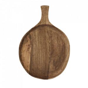 Platou maro din lemn de mango 28x40 cm Chevannes Madam Stoltz