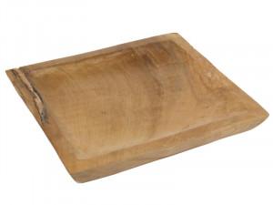 Platou maro din lemn mindi 35x30 cm Ciel Santiago Pons