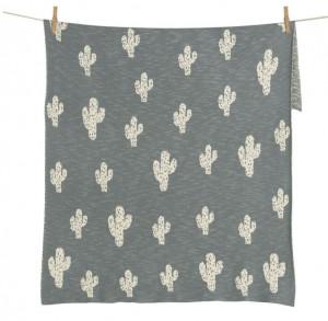 Pled din bumbac 80x100 cm Cactus Quax