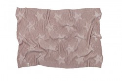 Pled nude din bumbac 90x120 cm Hippy Stars-Vintage Nude Lorena Canals