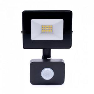 Proiector negru cu senzor din metal LED Lex M Milagro Lighting