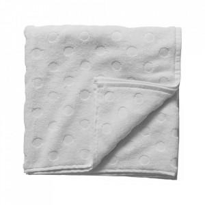 Prosop alb din bumbac 70x140 cm Dots Bloomingville