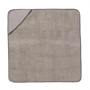 Prosop gri din bumbac cu gluga pentru copii Sento Hooded Towel Ferm Living