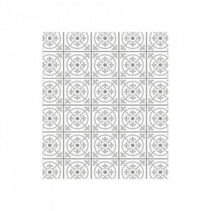 Protectie alba/gri din sticla pentru perete 60x70 cm Wall Tiles Gray Wenko